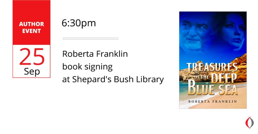 Roberta Franklin Banner for Shepard Bush Library