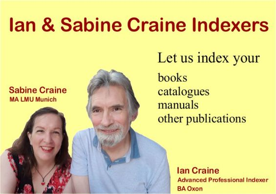 IanBina Indexers Ad