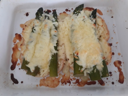 Asparagus al forno