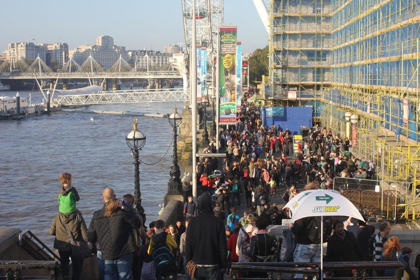 London Crowds