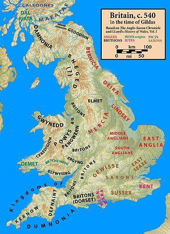Post Roman Britain