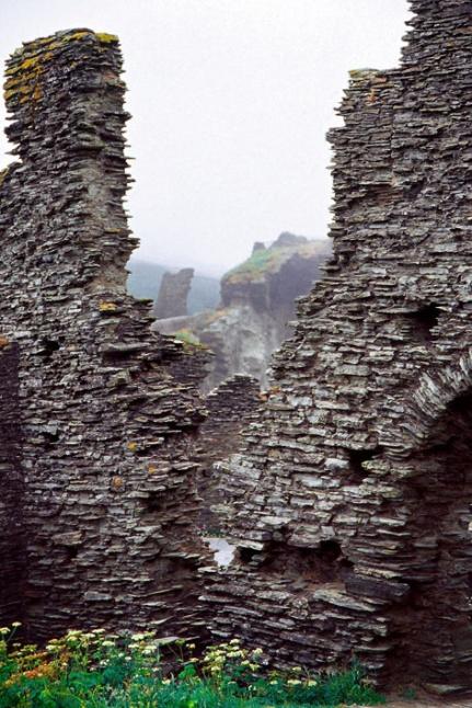 Tintagel_Castle Ruins