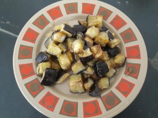 Aubergines Honey